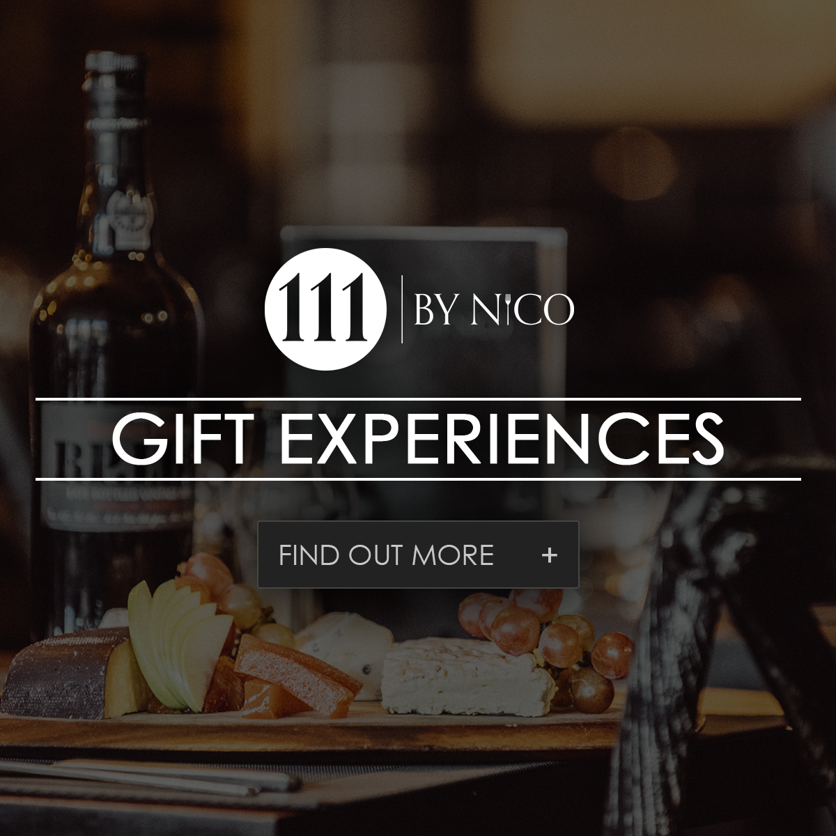 gift experiences at 111 by nico