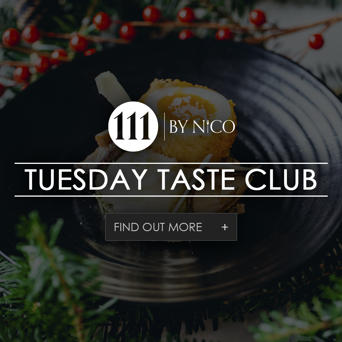 tuesday taste club at 111 by nicos