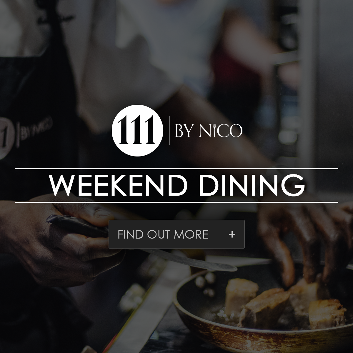 weekend dining at 111 by nicos